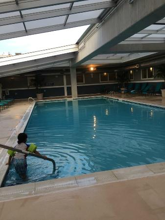 Bethany Beach Ocean Suites Residence Inn By Marriott: Pool With Retractable  Roof! Great For