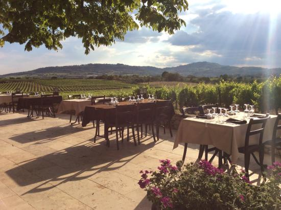 Restaurant la Ferme du Pezet: La terrasse