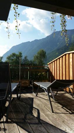 Hotel Christina: terrasse de la chambre