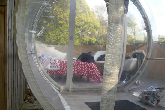 int rieur de la bulle quistinicvallee de pratmeur tripadvisor. Black Bedroom Furniture Sets. Home Design Ideas
