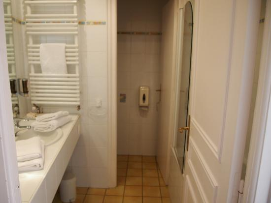 Hotel Gradlon: 洗面所