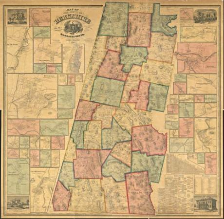 Pittsfield, MA: large selection of maps worldwide, framed or unframed, in many sizes