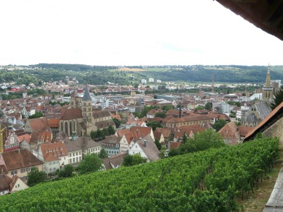Esslinger Burg: panorama dal Burg