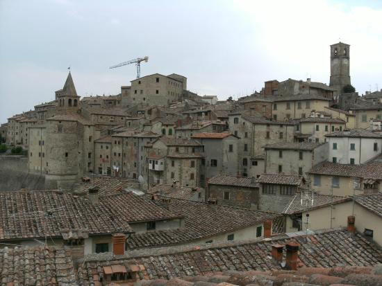 Hotel La Meridiana: View over the rooftops
