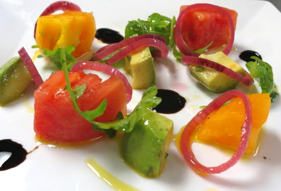 The Point Restaurant & Terrace: Heirloom Tomatoes