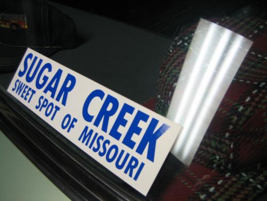 Sugar Creek, MO : This says it all