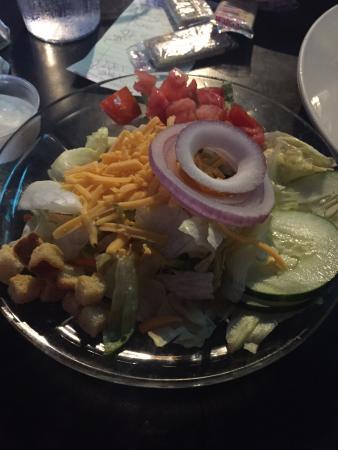 Summit Food and Spirits: Dinner salad.