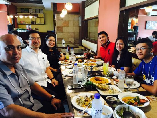 Chef Doy's: Sumptuous lunch...