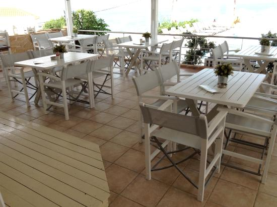 Hotel Milos: Restaurant