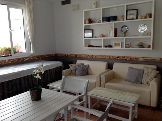 Hotel Milos: Restaurant/Bar