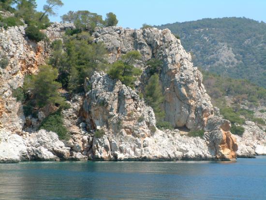 Hotel Milos: Stunning coastline