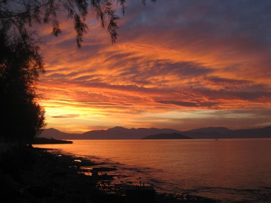 Hotel Milos: Fabulous sunsets