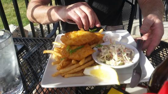 Sandpoint, ID: Fish and chips