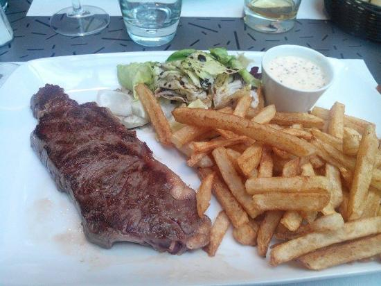 Faux Filet Frites Fraiches Picture Of La Table A Diner Orchies
