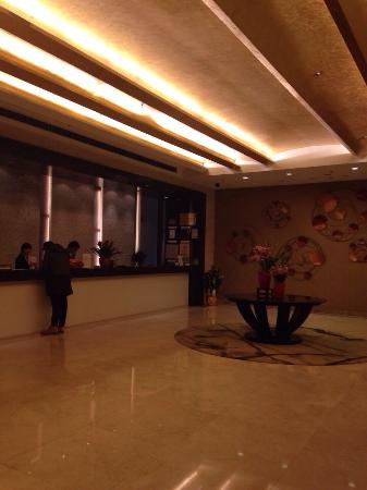 Grand Park Wuxi: Reception and check in desks