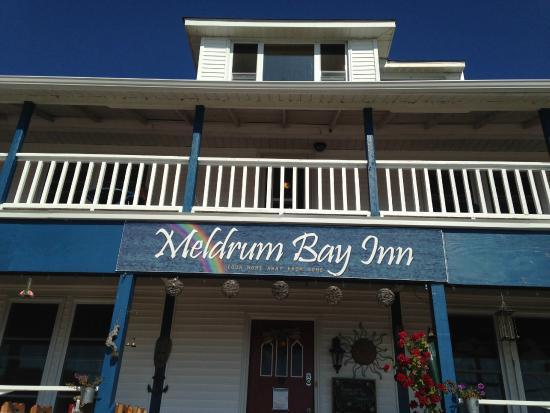 Meldrum Bay, Kanada: The Hotel Entrance