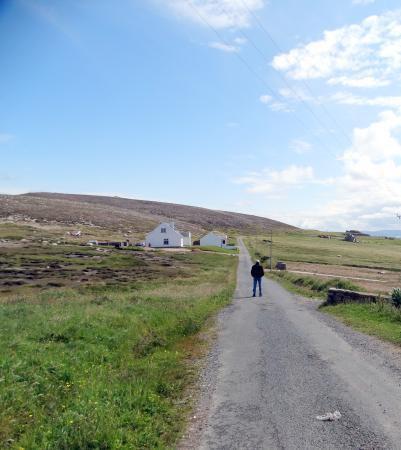 Tory Island: Long, winding, quiet roads to walk or ride  bike....