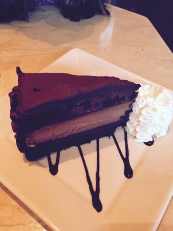 The Cheesecake Factory : Peperoni pizza, Renee's special, and Hershey's Chocolate Cheesecake were our Grandma/Granddaught