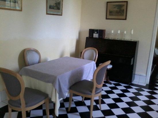 Chateau Bellevue : une salle à manger