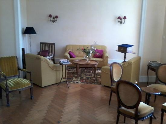 Chateau Bellevue : salon