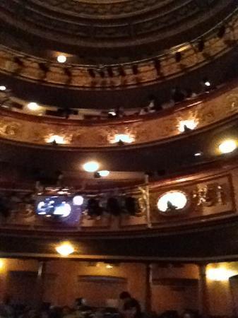 Lyric Theatre London: Panorâmica interna.