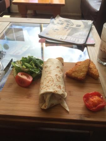 The Beached Lamb Cafe: The one and only unforgettable breakfast burrito