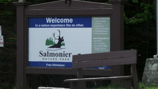 Salmonier Nature Park : The site is clearly marked with ample parking