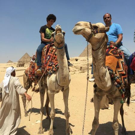 Moustafa Egypt Tours: Camel Ride at Giza pyramids