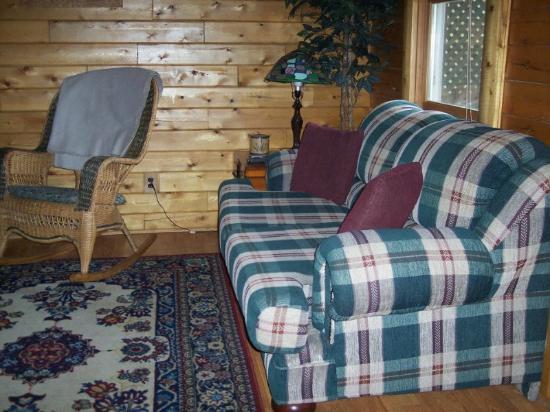 Danville  Knox County, Огайо: inside cabin