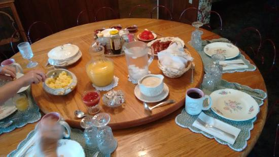 The Inn at Mountain View : Breakfast!