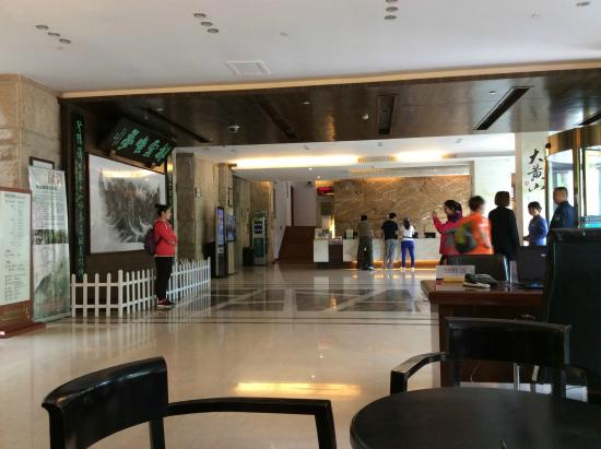 Paiyunlou Hotel: Hall, only place have WiFi