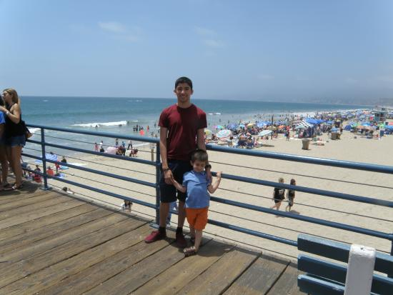 Loews Santa Monica Beach Hotel My Boys At The Pier