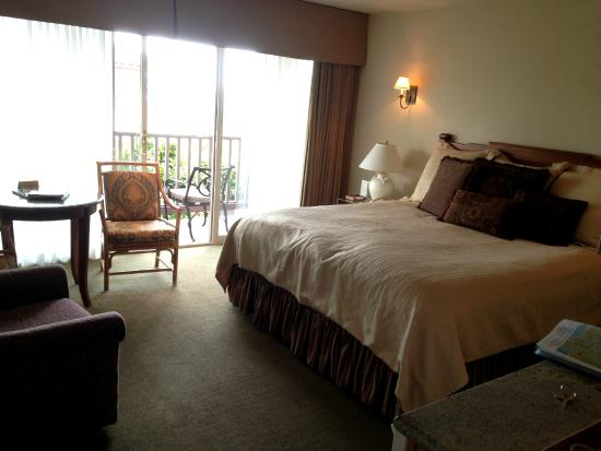 Chambre lit King size - vue ocean - Picture of Horizon Inn & Ocean ...