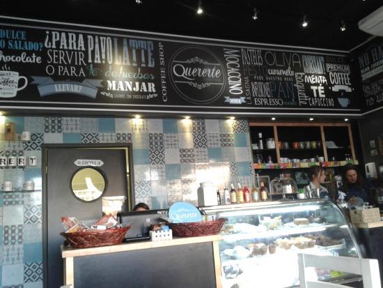 Foto de quererte cafeter a santiago decoraci n tripadvisor for Decoracion cafeteria