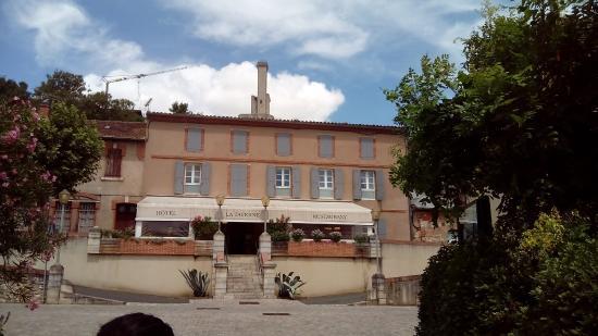 "Hotel Restaurant la Taverne : Chambre ""chocolat"""