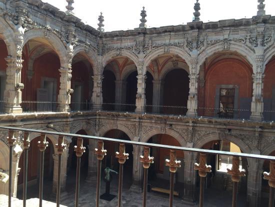 Museum of Arts of Queretaro : Vista desde el piso superior del museo