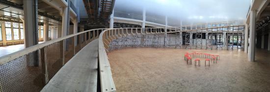 Zentrum für Kunst und Medientechnologie (ZKM): Walkway