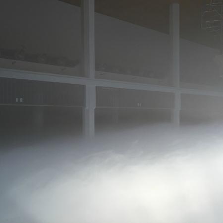 Zentrum für Kunst und Medientechnologie (ZKM): Above the Cloud - more than 40 Celcius