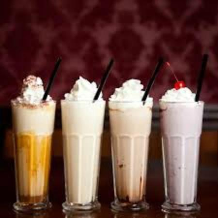 Landrum, SC: Milkshakes or smoothies available in any flavor of Hershey's Ice Cream.