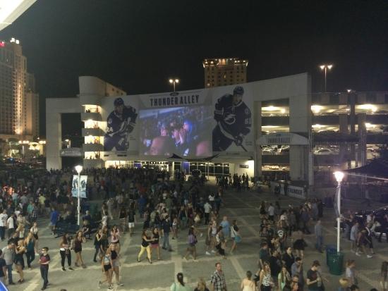 Amalie Arena: Outside Area