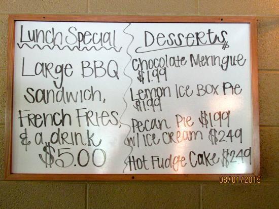 Centerville, TN: Specials