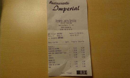 Restaurante Imperial