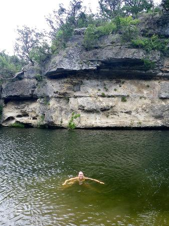 Lost Maples State Natural Area Beautiful Swimming Hole By Primitive Camping C