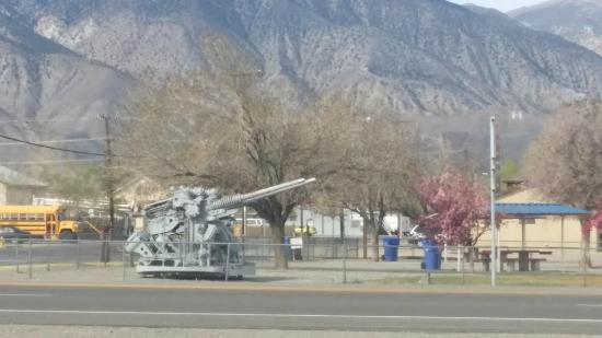 Hawthorne, NV: from across the street