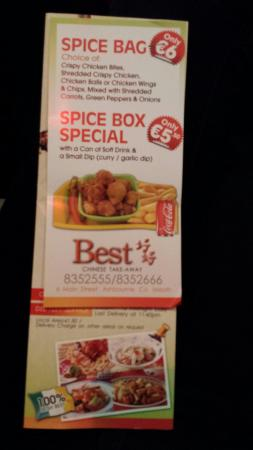 Best Chinese Takeaway
