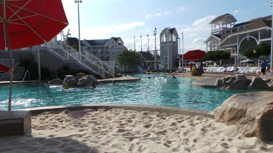 Disney S Beach Club Resort Near Exit From Water Slide