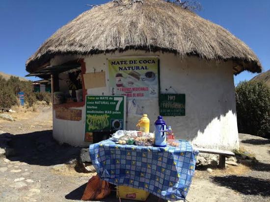 Recuay, Perù: Tienda