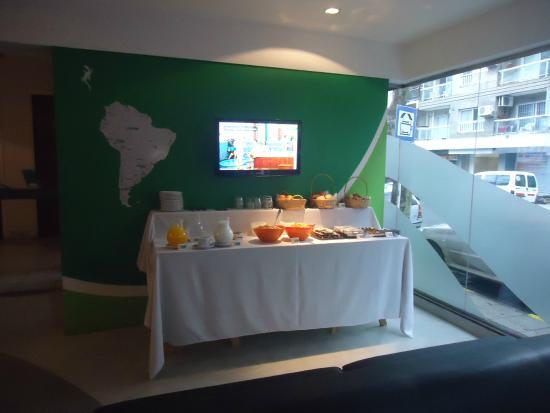 Che Lagarto Hostel Mar del Plata: Desayuno