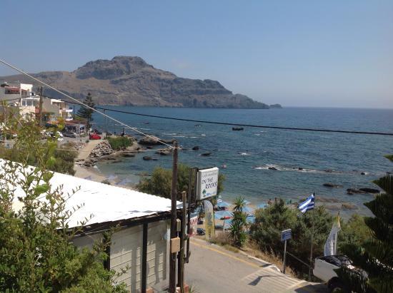 Creta Mare Hotel: Vista