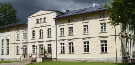 Zukowo, Poland: Pałac - Front